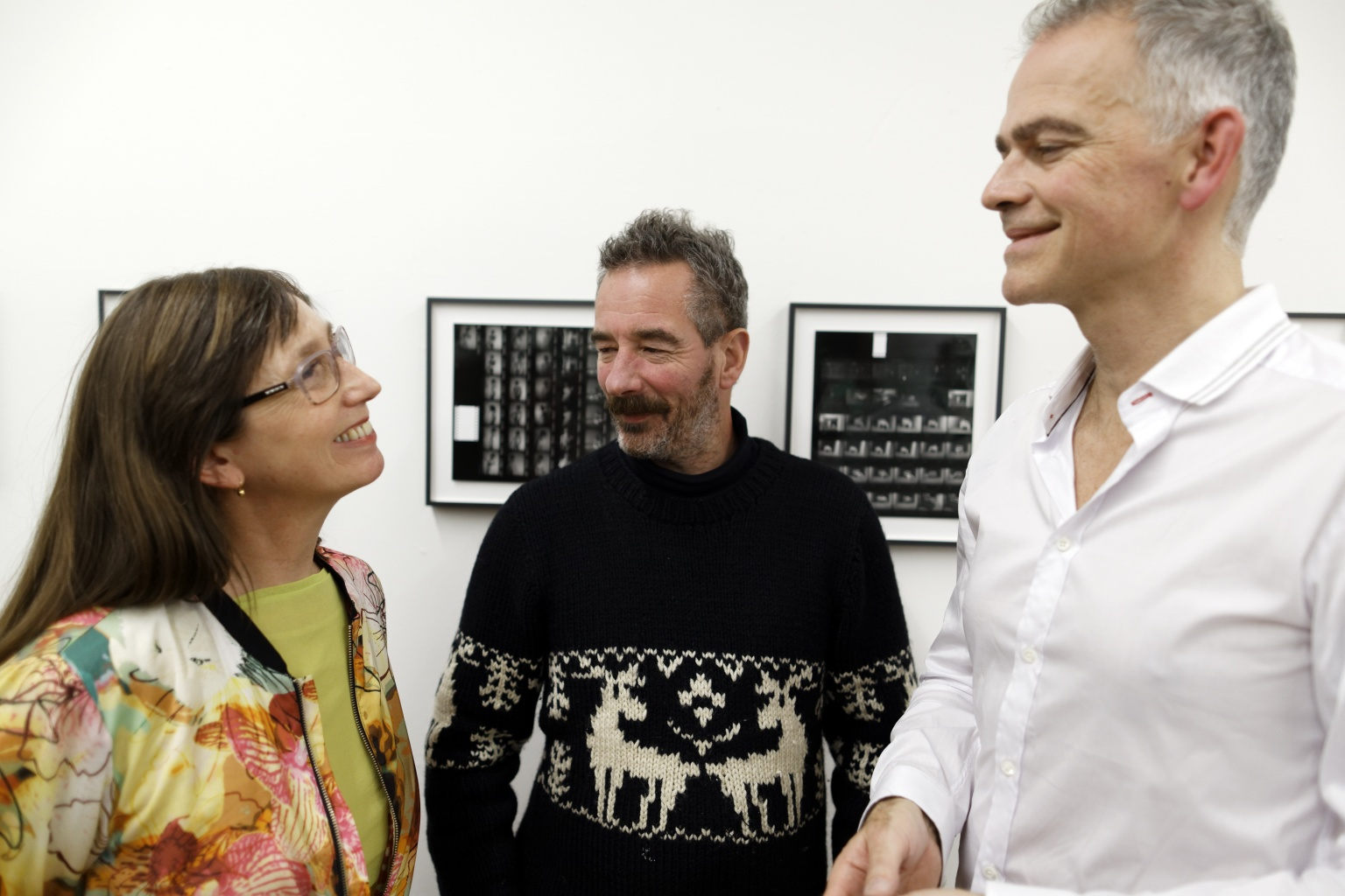 Dirk Jan Jager, Renée Kool and Simon Ferdinando<br>
