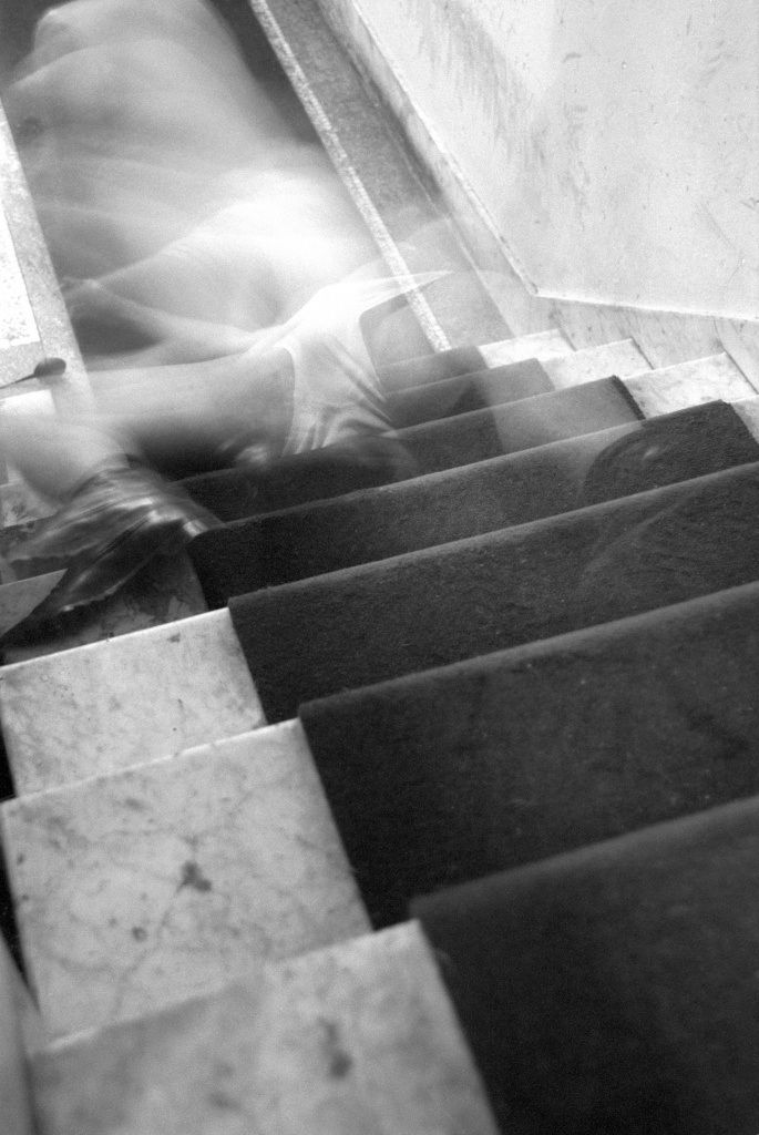 stairs blur<br>